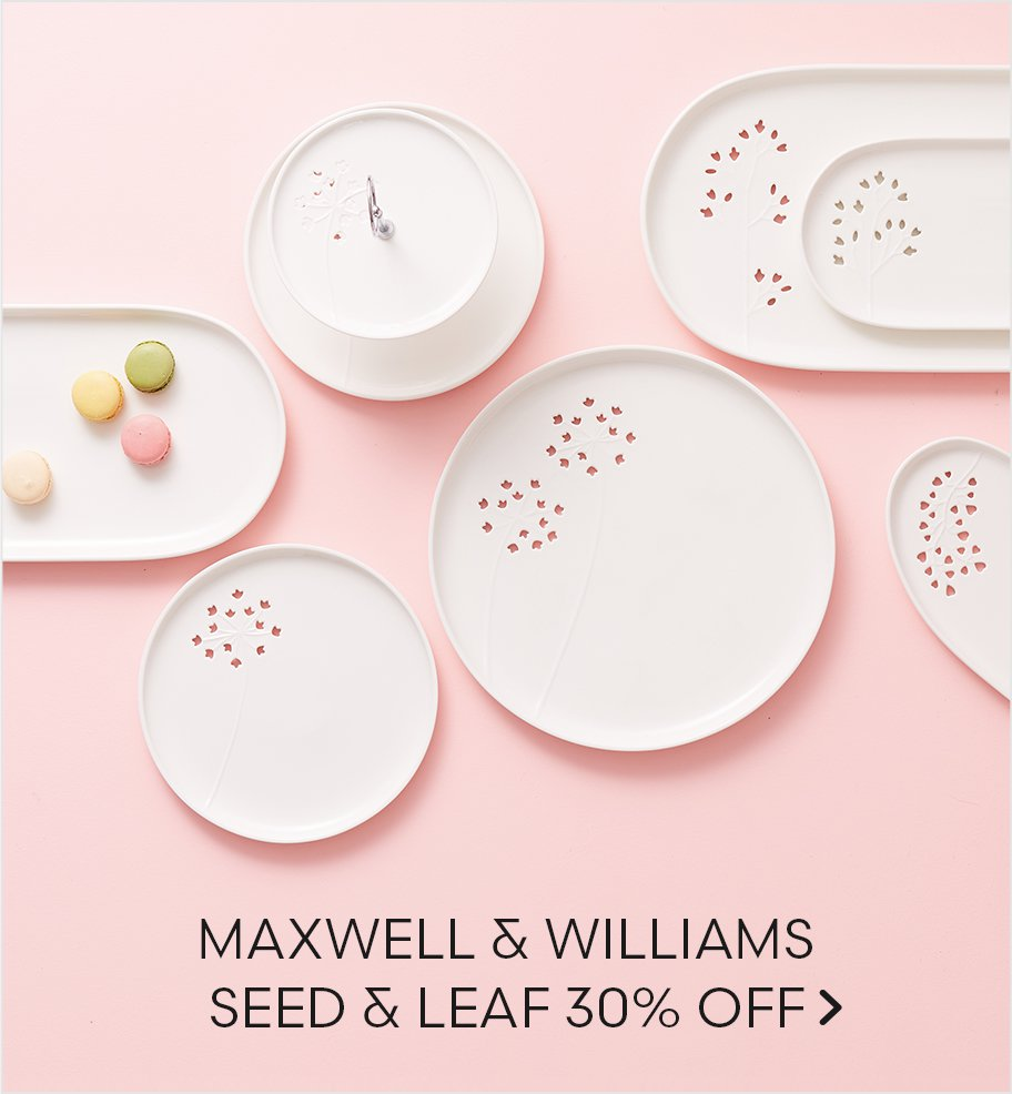 Maxwell & Williams Seed & Leaf 30% Off