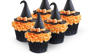 Spooky Halloween Cupcake Decoration
