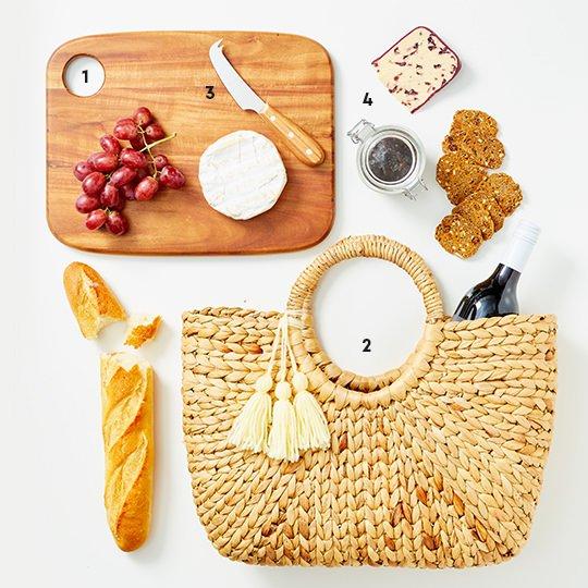Gourmet Picnic Gift Basket