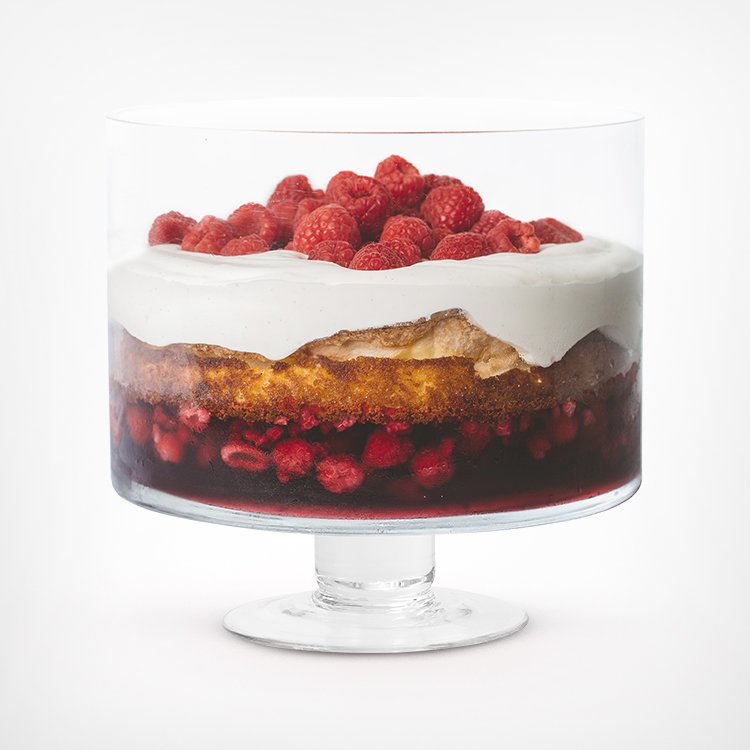 Trifle Recipe in Wilkie Brothers Trifle Bowl