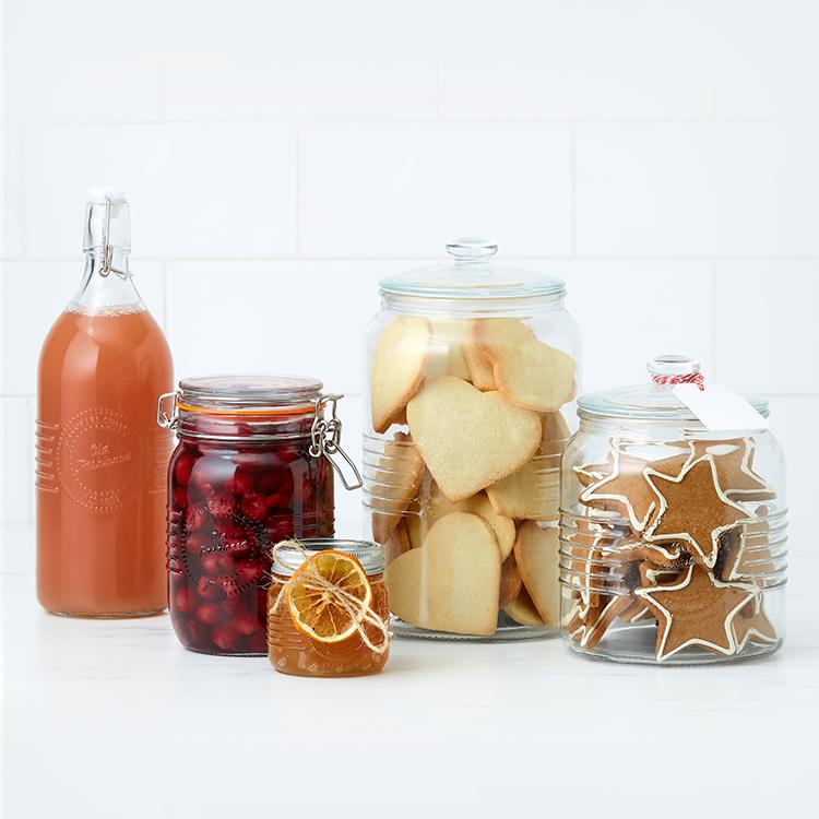 Old Fashioned jars