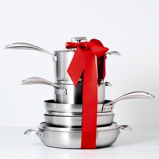 Scanpan CS+ frypan and cookware