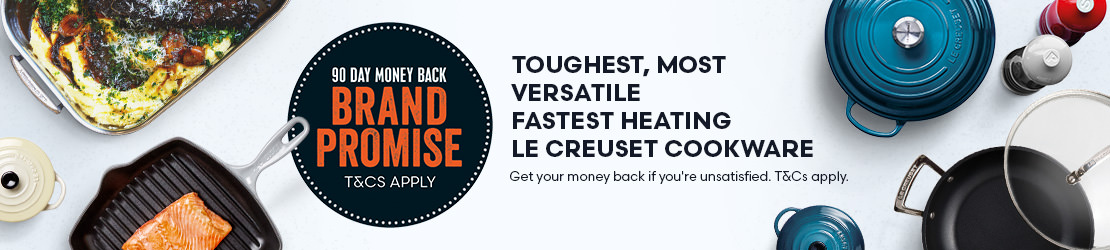 Le Creuset Brand Promise