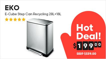 EKO E-Cube Step Can Recycling 28L+18L