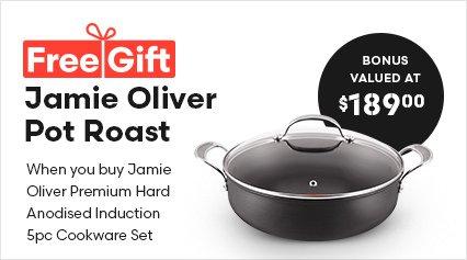 Jamie Oliver Premium Hard Anodised