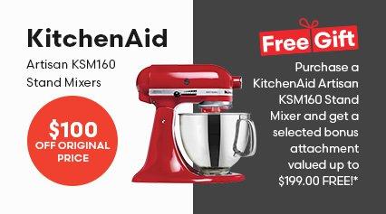 KitchenAid Artisan KSM160 Stand Mixers