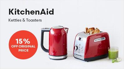 KitchenAid Kettles and Toasters