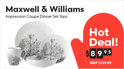 Maxwell & Williams Impression Coupe Dinner Set