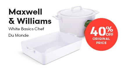 Maxwell & Williams White Basics Chef Du Monde