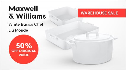 Maxwell Williams White Basics Chef Du Monde