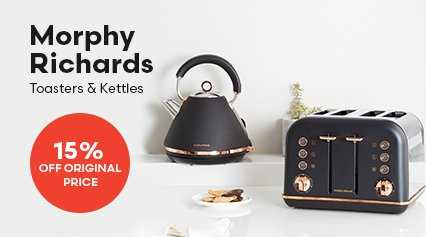 Morphy Richards Toasters and Kettles