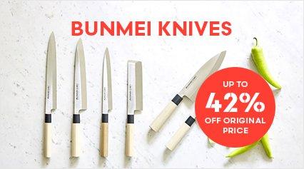 Bunmei Knives