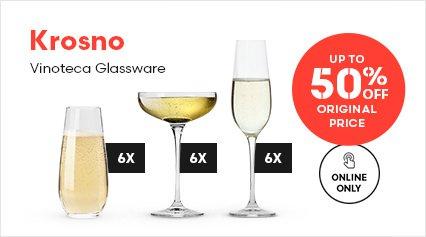 Krosno Vinoteca Glassware