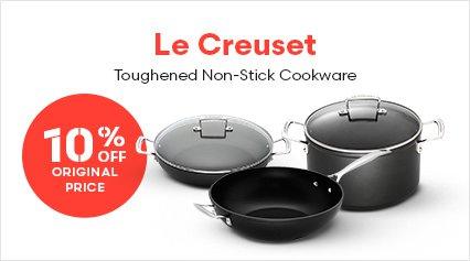 Le Creuset Toughened Non-Stick Cookware