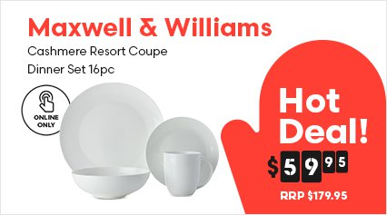 Maxwell Williams Cashmere Resort Coupe Dinner Set