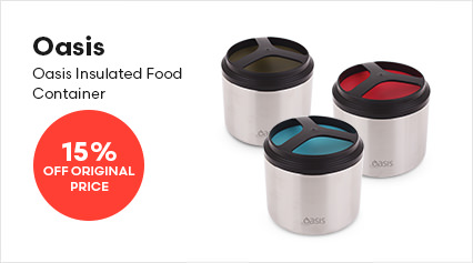 Oasis Insulated Food Containers