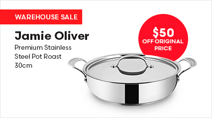 Jamie Oliver Premium Stainless Steel Pot Roast 30cm