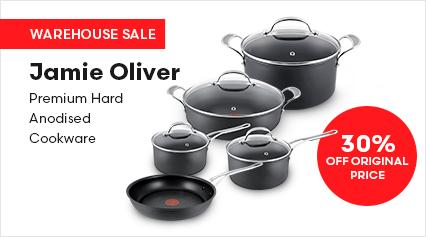 Jamie Oliver Premium Hard Anodised Cookware