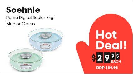 Soehnle Roma Digital Scales 5kg