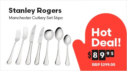 Stanley Rogers Manchester Cutlery Set 56pc