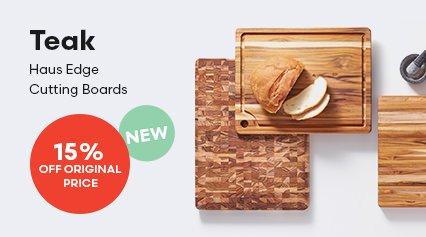 Teak Haus Edge Cutting Boards