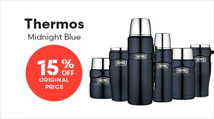 Thermos Midnight Blue