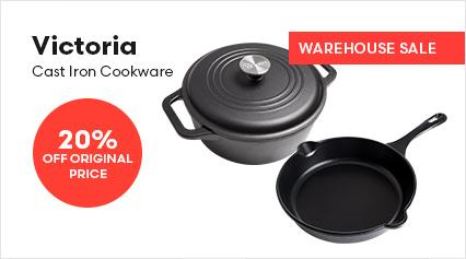 Victoria Cast Iron Cookware