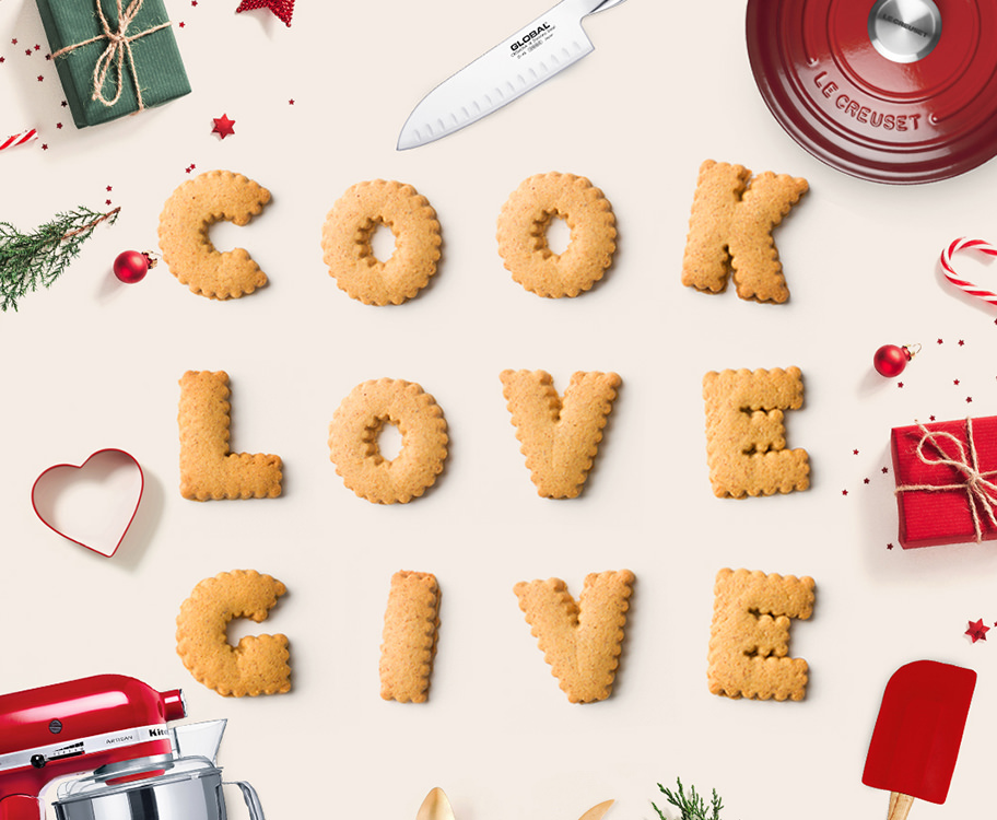Cook Love Give