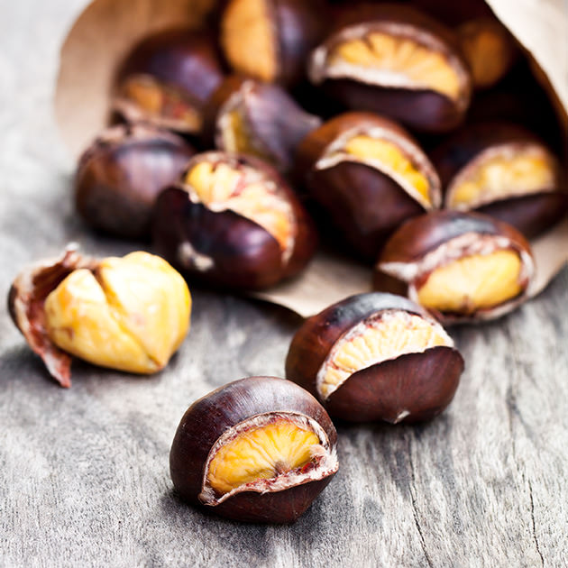 Pop-Up Eats: Roasted Chestnuts