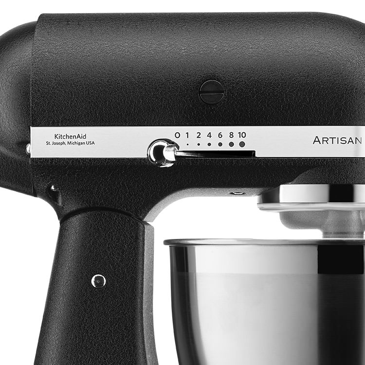 KitchenAid Artisan KSM177 Stand Mixer Cast Iron Black