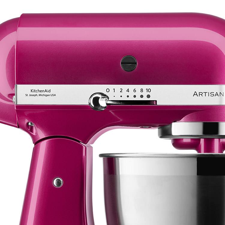 KitchenAid Artisan KSM177 Stand Mixer Raspberry Ice