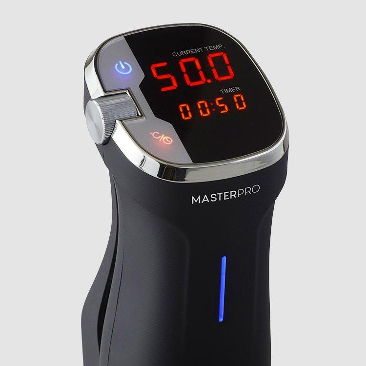 MasterPro Sous Vide Precision Cooker digital display